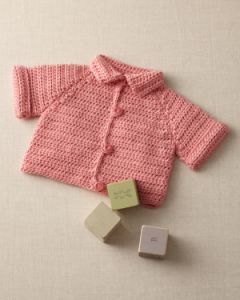 Simple Raglan Baby Jacket