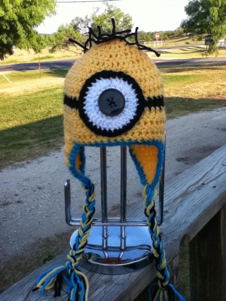 Crochet Patterns Galore Despicable Me Minion Earflap Beanie