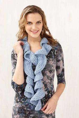Crochet Patterns Galore Ruffle Scarf