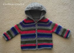 Toddler Striped Sweater