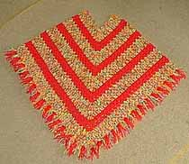 Crochet Patterns Galore Child S Poncho