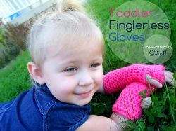 Toddler Fingerless Gloves