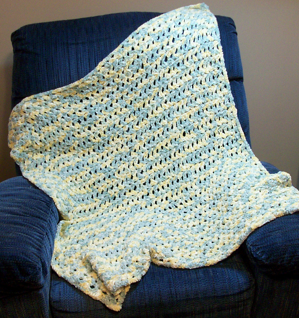 Crochet Patterns Galore - Baby Shells Baby Blanket
