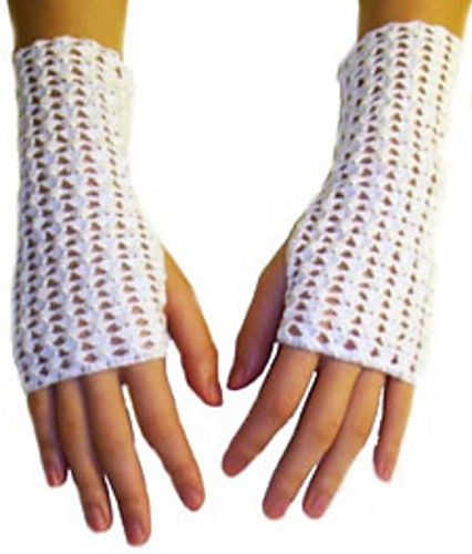 Free Crochet Patterns Lace Gloves : Crochet Patterns Galore - Crochet Thread Fingerless Gloves
