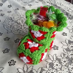 Christmas Bootie Can Cover