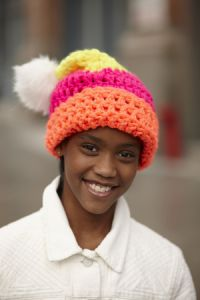 Color Bright Slouch Hat