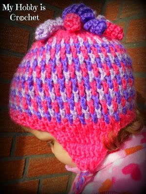 Crochet Patterns Galore Crochet Earflap Hat Gum Drops