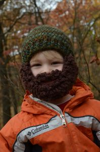 Mountain Man Beard Hat