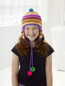 Colorful Earflap Hat