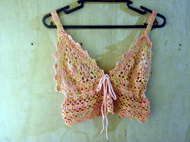 Crochet Patterns Galore Bralette Exercise