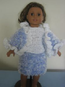 Ruffles Outfit for American Girl Dolls