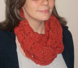 Fall Fun Infinity Scarf