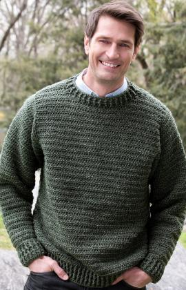 47c723a30d2001 Father Pullover Free Crochet Pattern. Father Pullover · Click to Enlarge