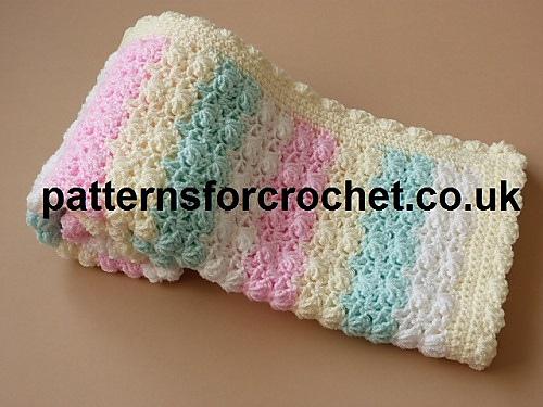 Crochet Patterns Galore : Crochet Patterns Galore - Baby Afghan Blanket