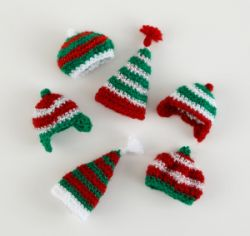 Wee Winter Hat Ornaments