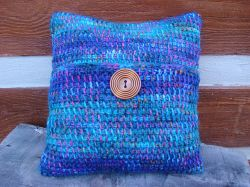 Tunisian Crochet Gypsy Pillow Cover