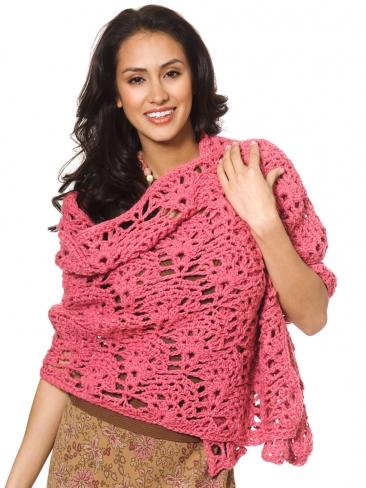Crochet Patterns Galore Fancy Shells Wrap
