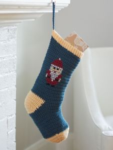 Cross Stitch Christmas Stockings: Santa, Snowman, X-tree