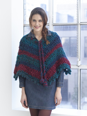 Crochet Patterns Galore V Shaped Poncho