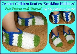 Sparkling Holidays Booties