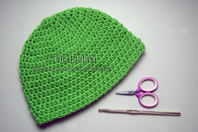 Crochet Patterns Galore Basic Beanie Half Double Crochet
