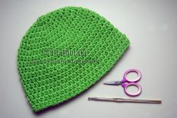 Basic Beanie (half double crochet)