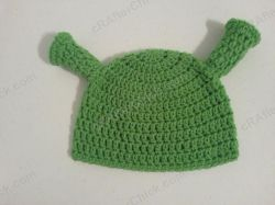 Shrek Ear Costume Beanie Hat