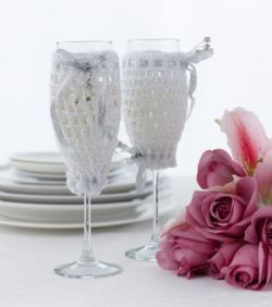 Champagne Glass Cover
