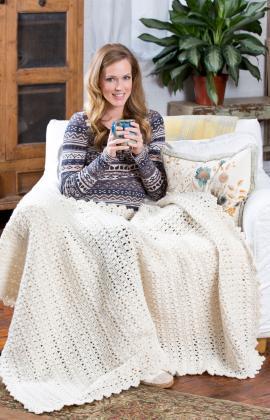 Crochet Patterns Galore Snowbound Throw