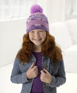 Sparkle Crochet Hat