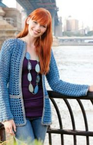 Crochet Patterns Galore Any Day Cardigan