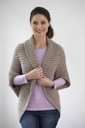 Crochet Patterns Galore Canyon Shrug