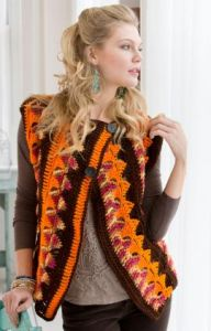 Crochet Trapeze Jacket