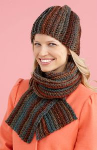Easy Peasy Hat And Scarf Set