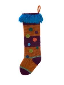Striped Colorburst Stocking