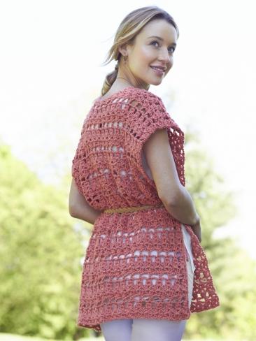 Crochet Patterns Galore Crochet Short Ruana