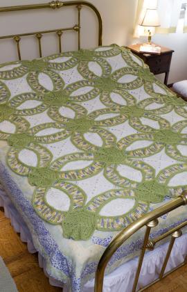 Crochet Patterns Galore Wedding Ring Quilt