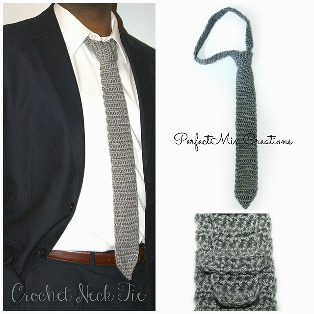 Crochet Patterns Galore Neck Tie