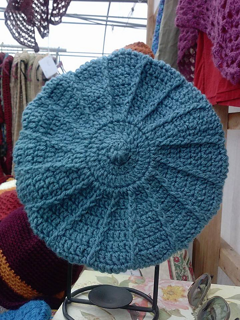 Quick Crochet Patterns : Quick Cable Beret Free Crochet Pattern