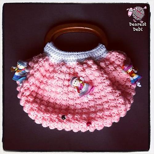 Crochet Patterns Galore Fat Bottom Bag Doll Purse