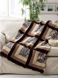 Crochet Patterns Galore Mitered Squares Afghan