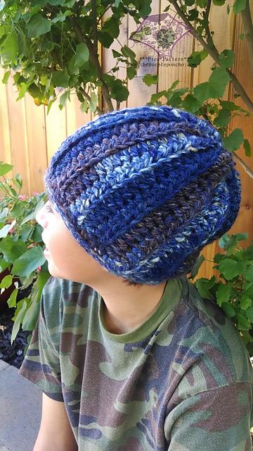 Crochet Patterns Galore : Crochet Patterns Galore - Easy HDC Beanie