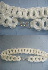 Crochet Large Pieces Interlocking Belt