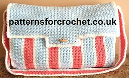 Crochet Patterns Galore Diaper Bag