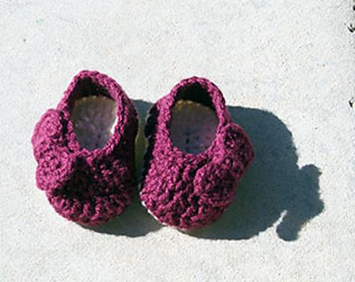 Crochet Patterns Galore : Crochet Patterns Galore - Bowtiful Booties