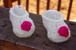Perfect Rose Booties