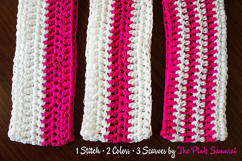 Crochet Patterns Galore 1 2 3 Circle Scarf Patterns