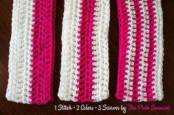 1-2-3 Circle Scarf Patterns