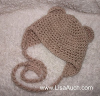 Crochet Hat with Earflaps