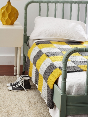 Crochet Patterns Galore Patchwork Blanket